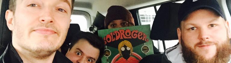 Selfie: Jean-Marc und Goldroger im Auto