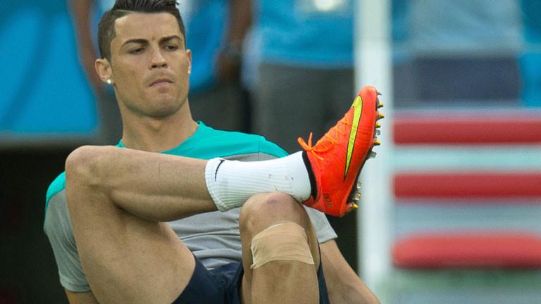 Der portugiesische Fußballer Christiano Ronaldo