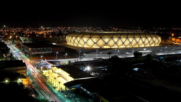 Fifa-WM-Stadion in Manaus, Amazonasgebiet