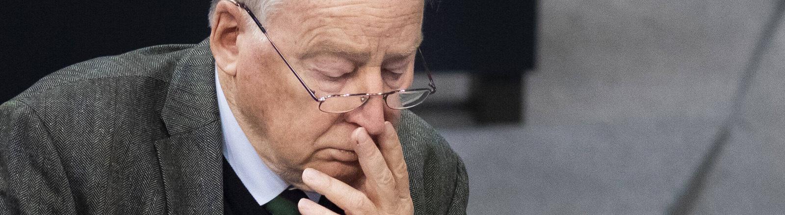 Alexander Gauland im Bundestag am 29.01.2020