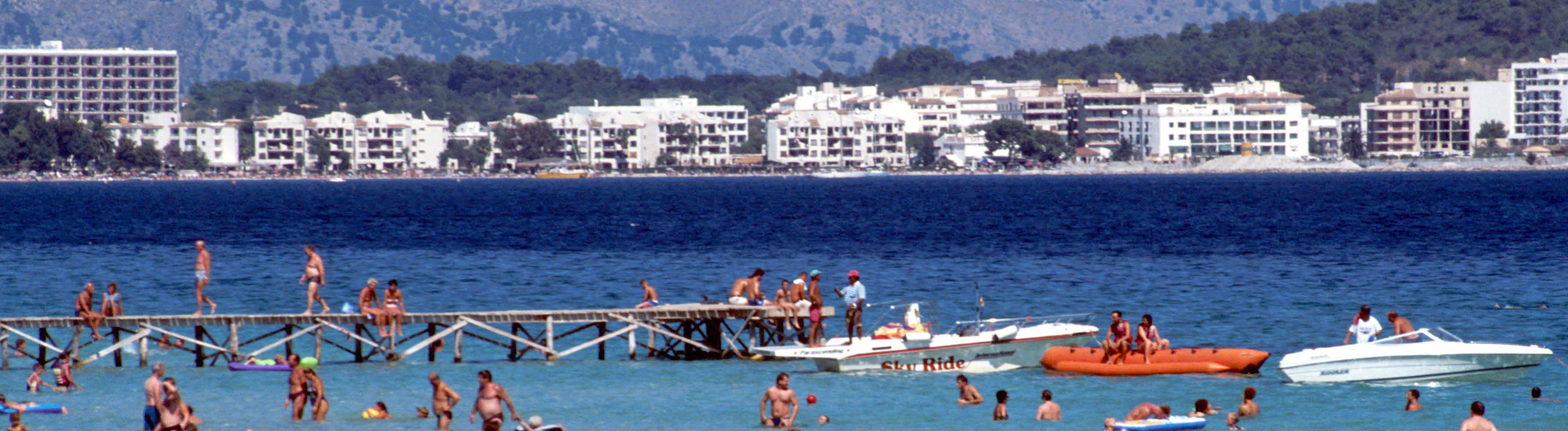 Strand in Spanien 2001
