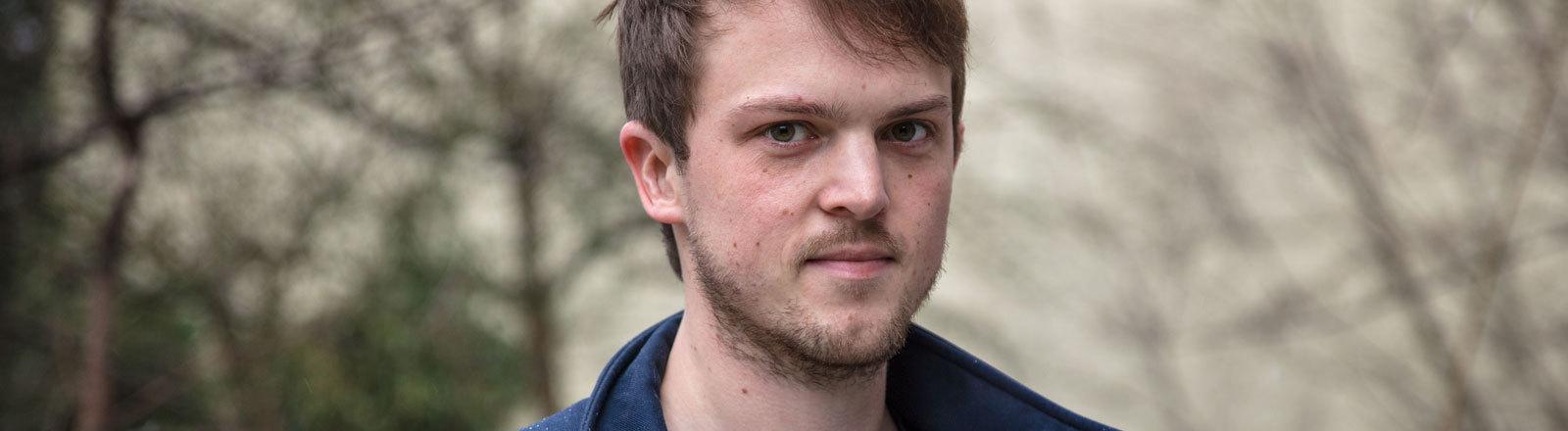 EU-Parlamentarier Erik Marquardt, 31 Jahre alt, für die Grünen in Brüssel.