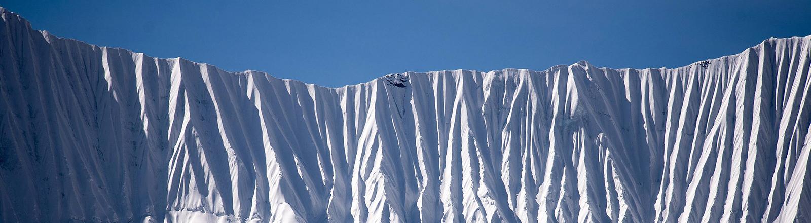 Gletscher im Himalaya.