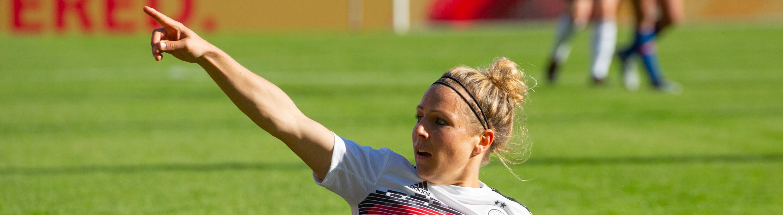 Svenja HUTH ( 9, GER). Frauen - Fussball, Deutschland (GER) - Chile (CHI), Vorbereitungsspiel zur W M 2019 in F R A N K R E I C H, am 30.05.2019 in Regensburg