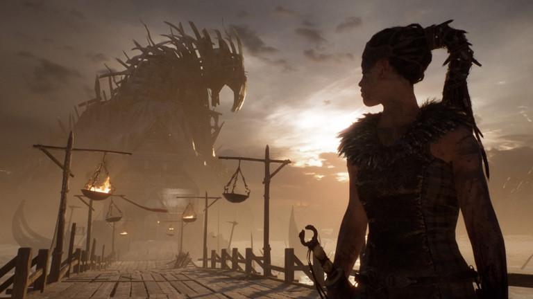 """Eine Szene aus dem Spiel """"Hellblade: Senuas Sacrifice""""."""