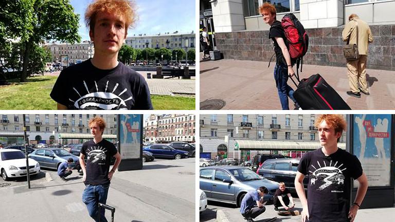 Lukas Latz in Sankt Petersburg