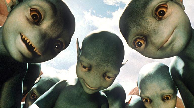 Außerirdische.
