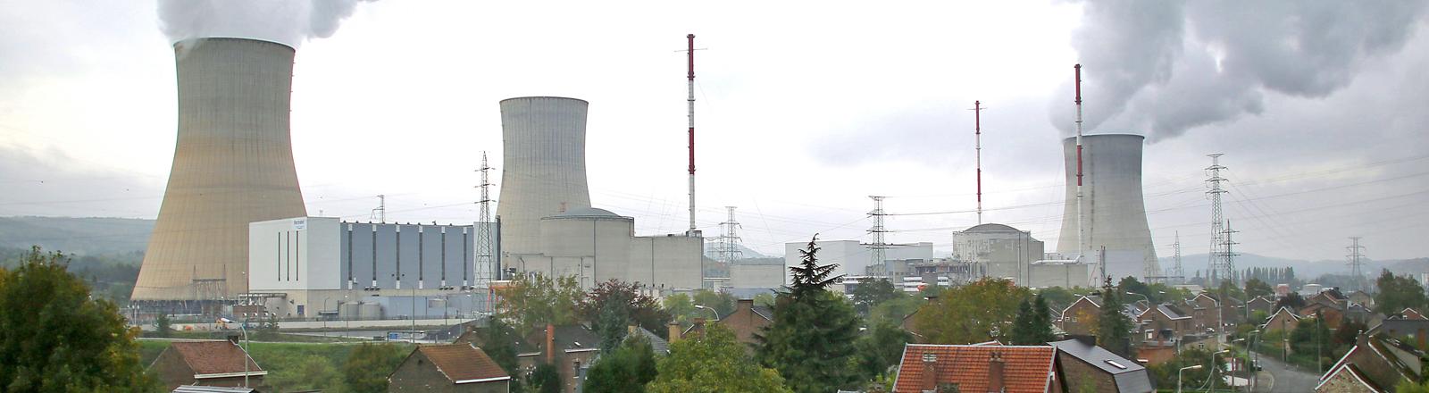Belgisches Atomkraftwerk Tihange.