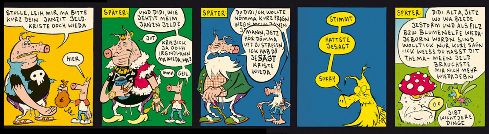 Comiczeichner: Didi und Stulle