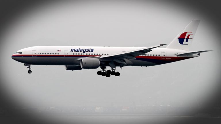 Ein Flugzeug der Malaysian Airlines