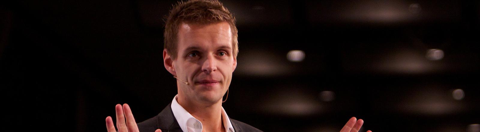 Kabarettist und Comedian Florian Schroeder