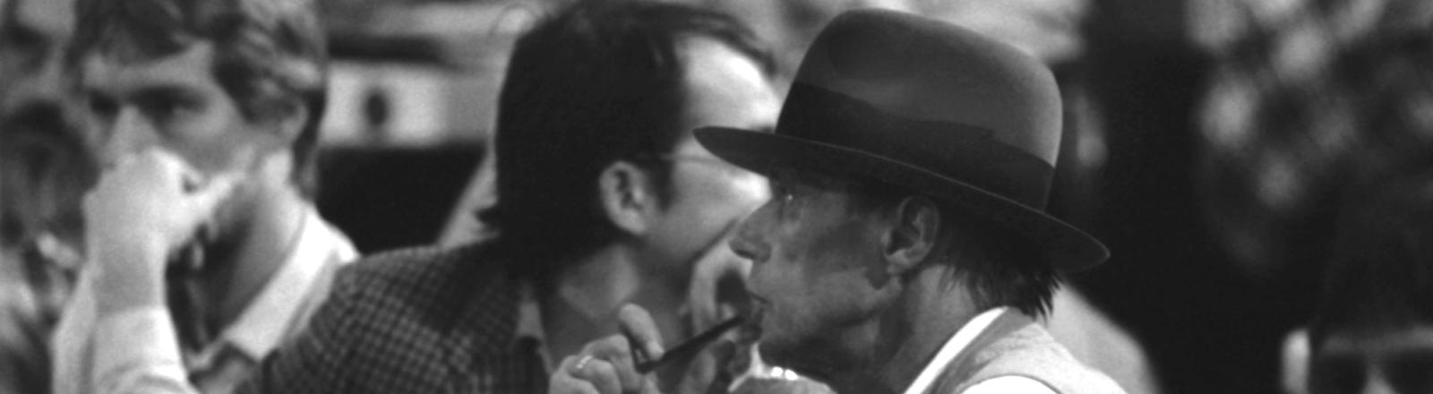Joseph Beuys auf dem Parteitag der Gründen 1982