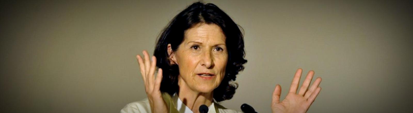 Die Reporterin Antonia Rados