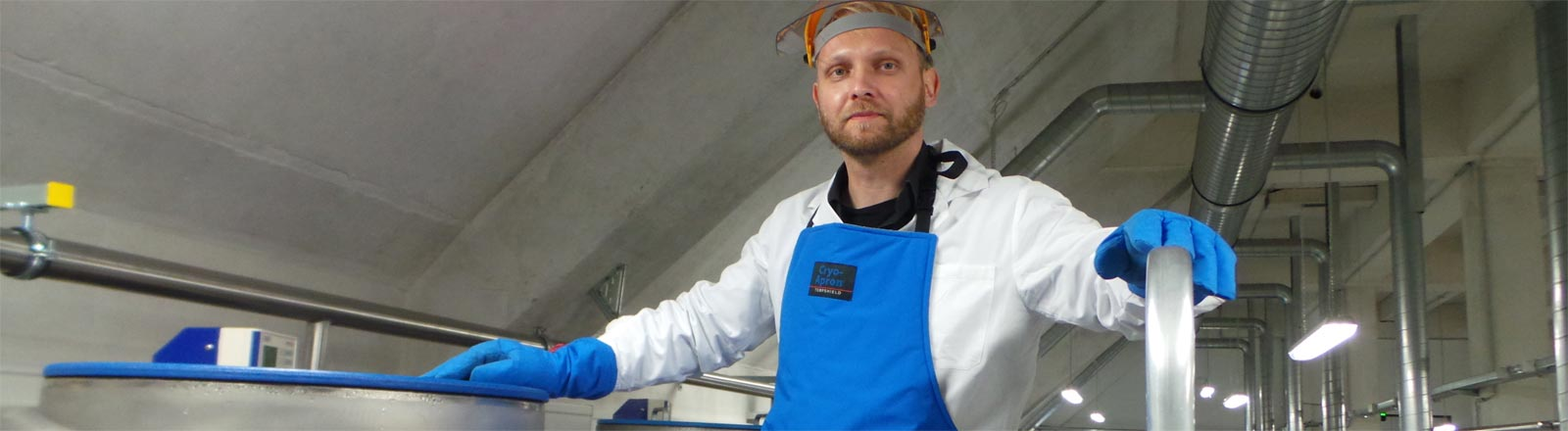 """Dominik Lermen ist Leiter der Projektgruppe """"Umweltprobenbank"""" am Fraunhofer Institut"""