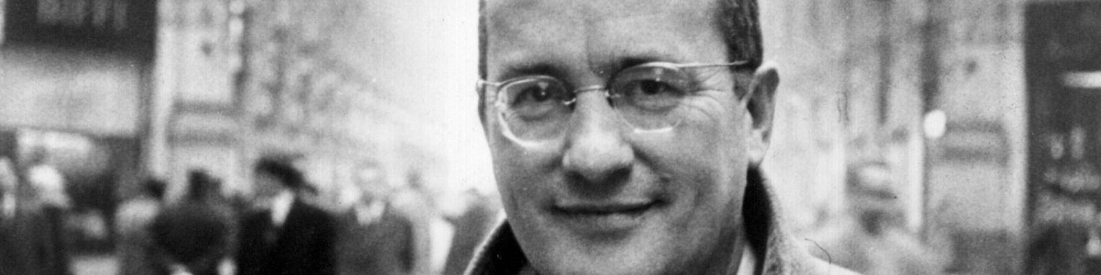 Der deutsche Schriftsteller Alfred Andersch