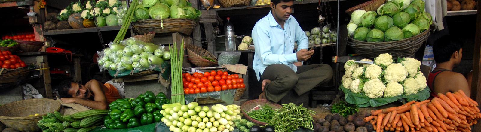 Marktstand Neu Delhi