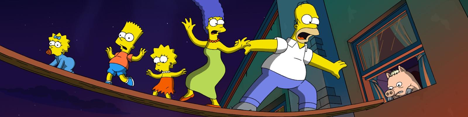 Die Simpsons in Aktion