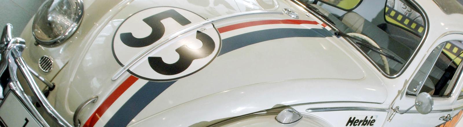 """Herbie ist der berühmteste Käfer der Filmgeschichte, prahlte im Kino mit so ziemlich allen Verrücktheiten und konnte """"selbstständig"""" denken"""""""