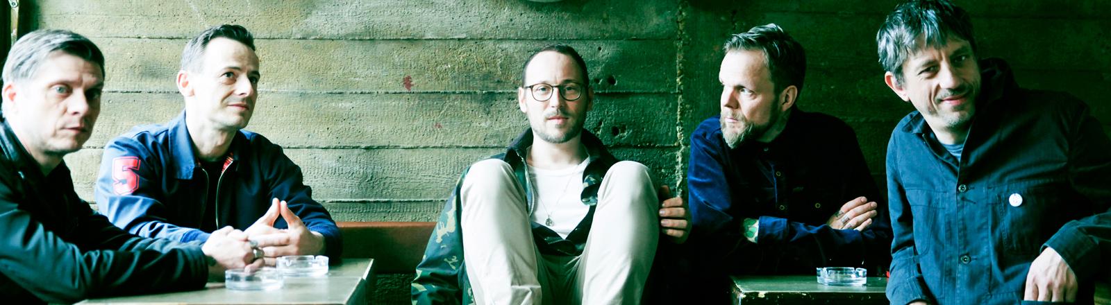 Die Band Beatsteaks auf einem Pressefoto.