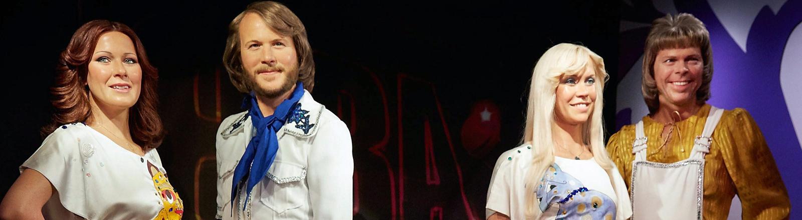 Wachsfiguren von ABBA