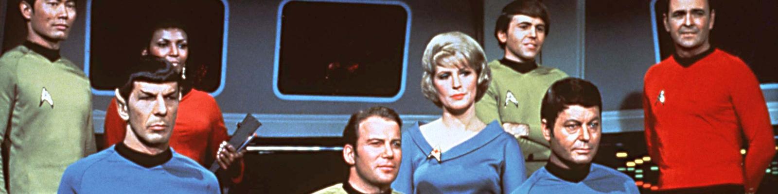 Die Mannschaft von Raumschiff Enterprise