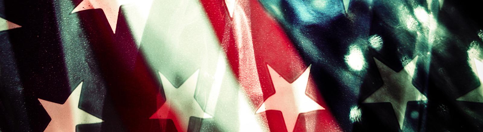 Die Flagge der USA
