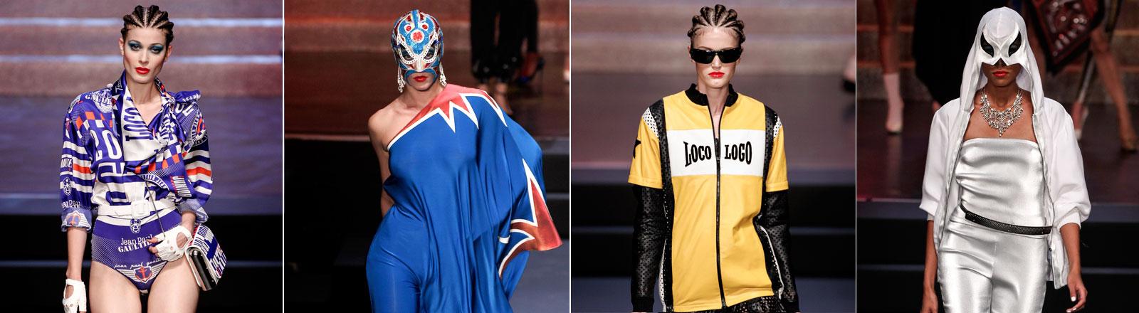 Die letzte Prêt-à-Porter-Schau von Gaultier auf der Pariser Fashion Week.