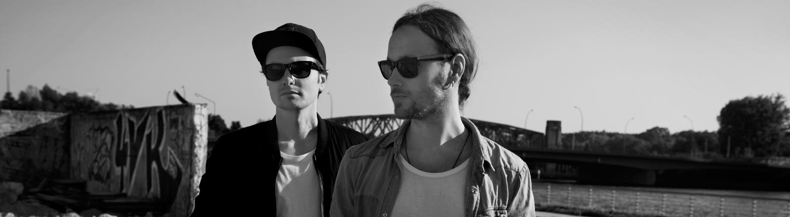 Das Singer-Songwriter-Duo Jonah aus Berlin mit Angelo Mammone und Christian Steenken