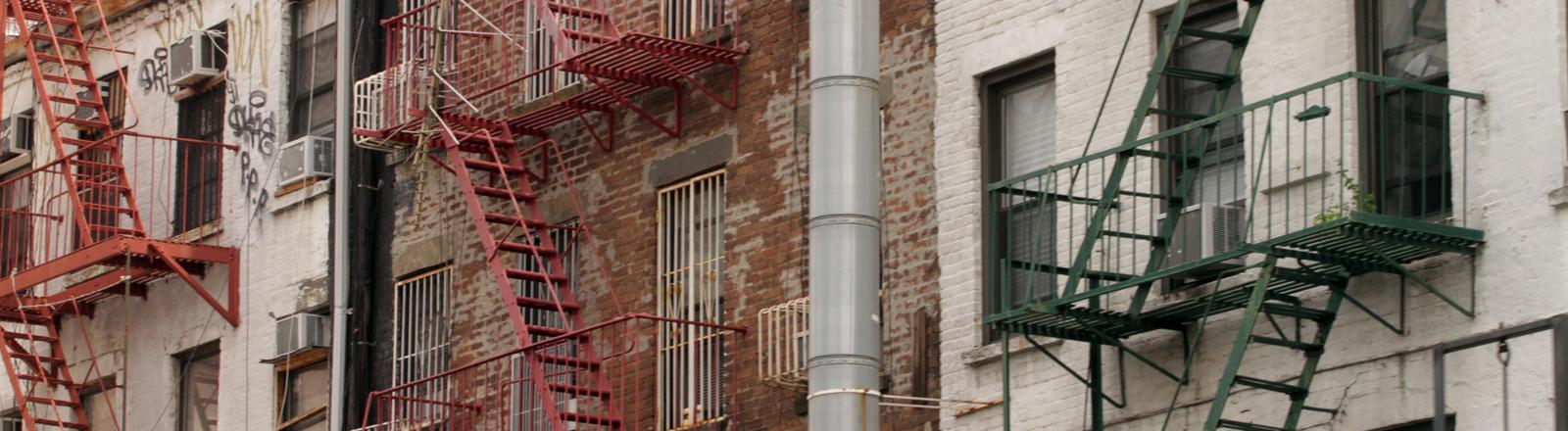 Wohnverhältnisse in New York
