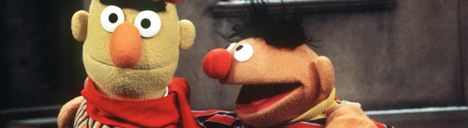 Vor 45 Jahren gingen Ernie und Bert auf Sendung.