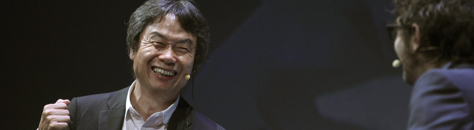 Der japanische Spielentwickler Shigeru Miyamoto hat Super Mario, Zelda und viele andere erfunden. 2012 erhielt er den Prinz-von-Asturien-Preis.