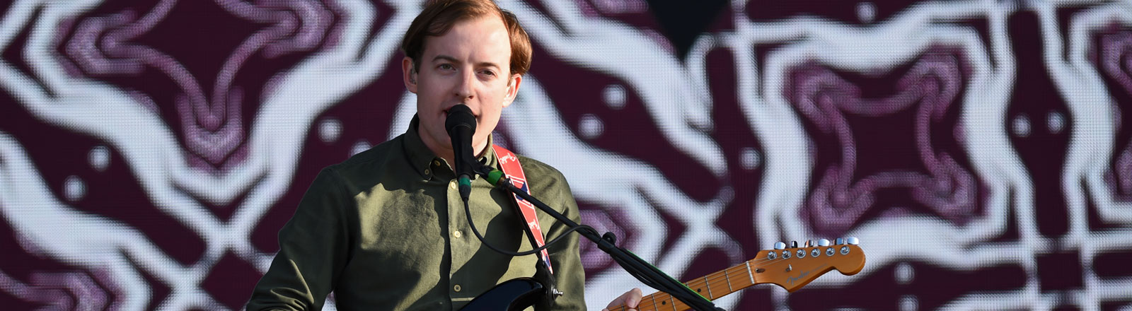 Jack Steadman, Sänger von Bombay Bicycle Club.