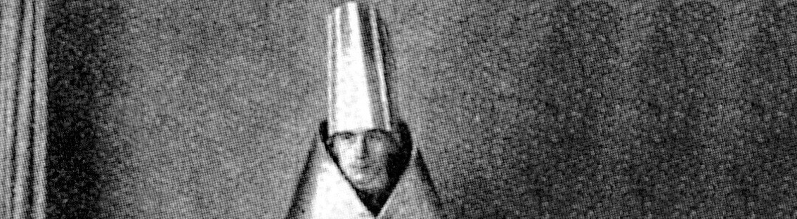 Das zeitgenössische Porträt zeigt den deutschen Dadaisten Gerhard Preiß.