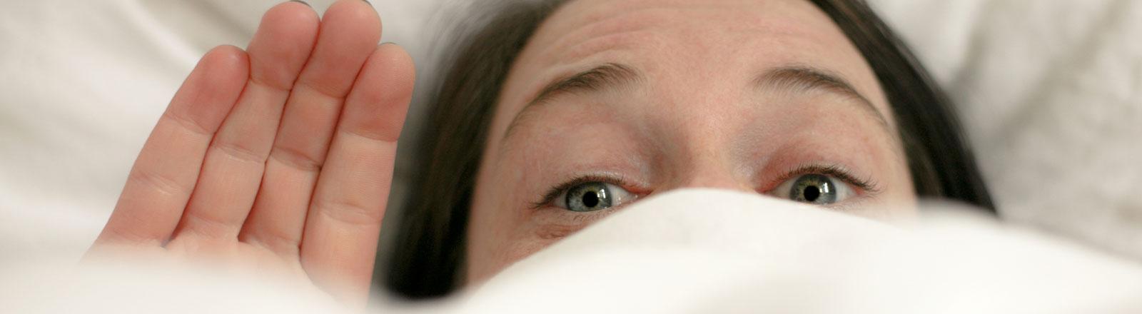 Krank im Bett oder nur verschlafen?