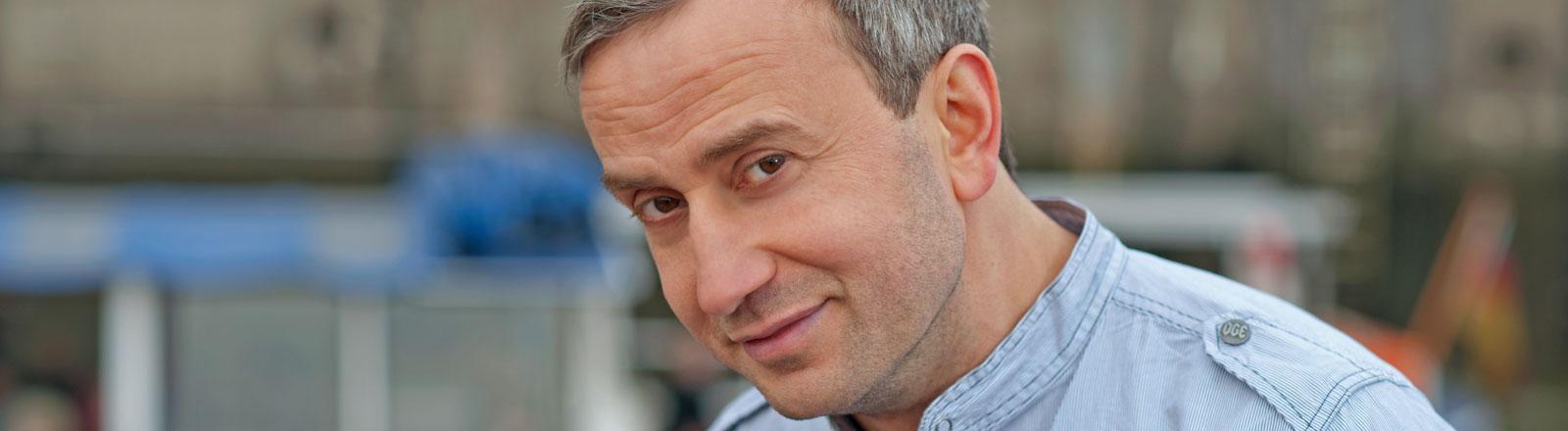 Der deutsch-türkische Kabarettist und Schriftsteller Kerim Pamuk