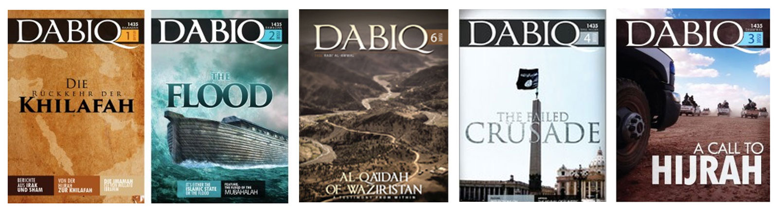 Screenshot des IS-Propaganda-Magazins Dabiq