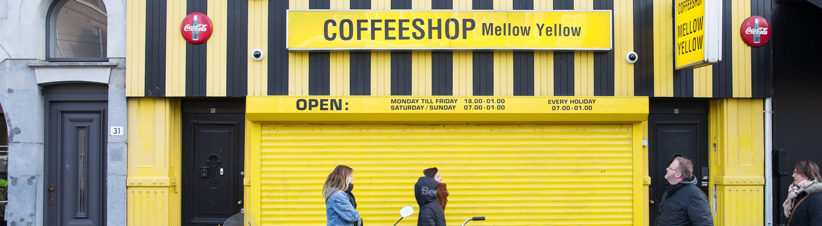 Amsterdams ältester Coffeeshop, Mellow Yellow
