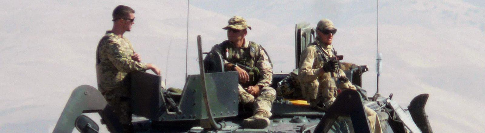Bundeswehr-Soldaten im Einsatz in Afghanistan
