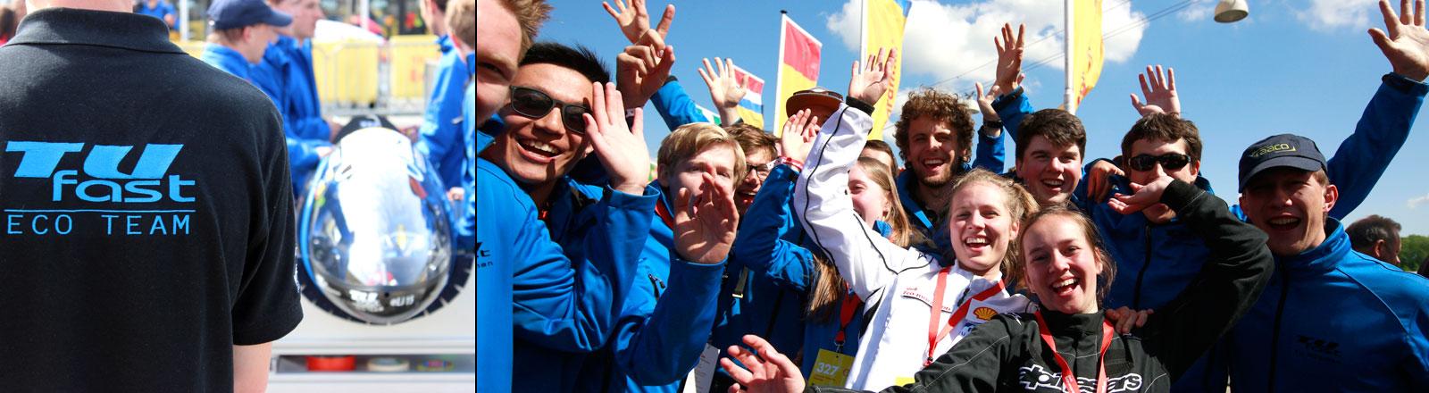 TUfast Eco Team beim Eco-Marathon 2015