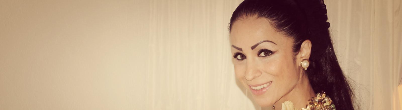 Die Sportmanagerin Samira Samii
