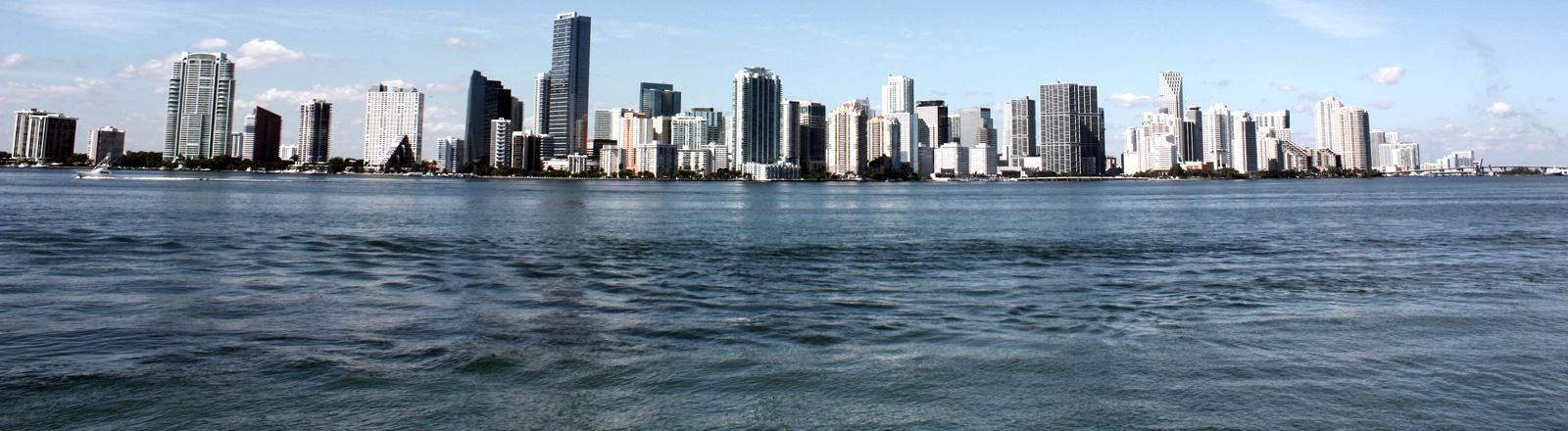 Miami Beach vom Meer aus