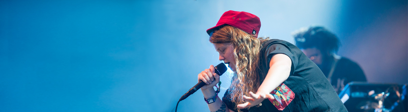 Kate Tempest beim Festival in St. Gallen 2015
