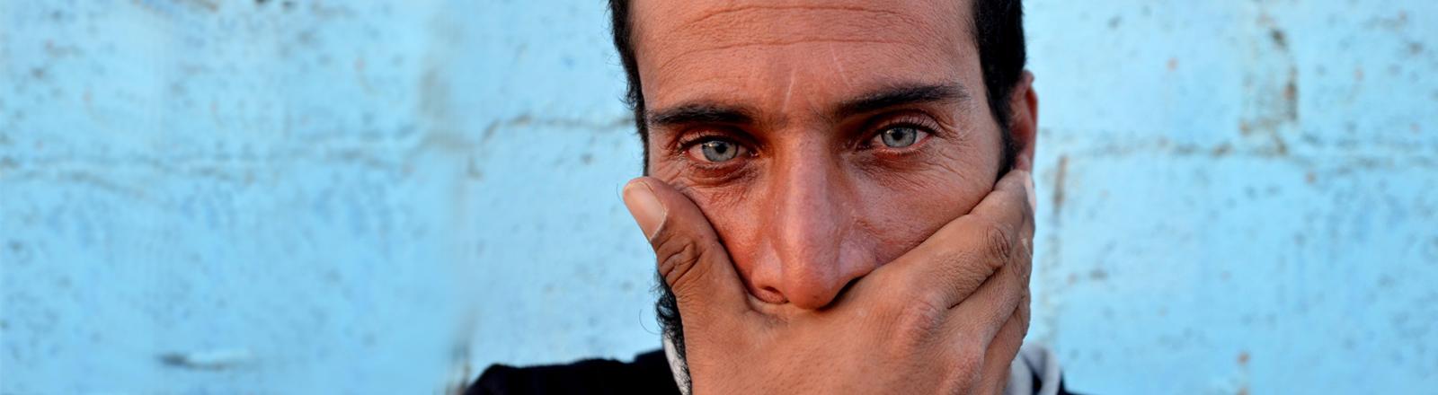 Ein syrischer Flüchtling im Libanon