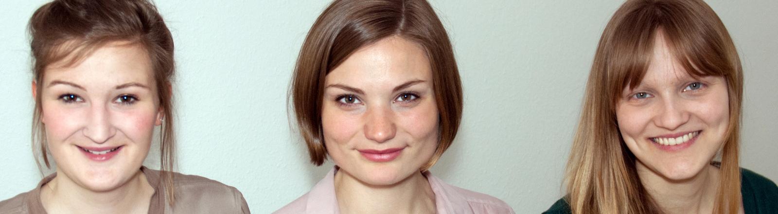 Alice Bergander, Lenemarie Leukefeld, Viola Dix sind Gründerinnen von ref.connect
