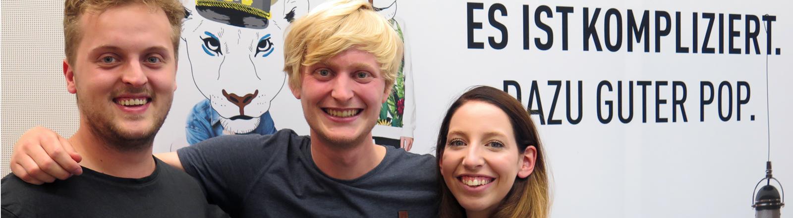 Charlotte Bühler und Moritz Bommert sind Nod One's Head und Christoph Sterz