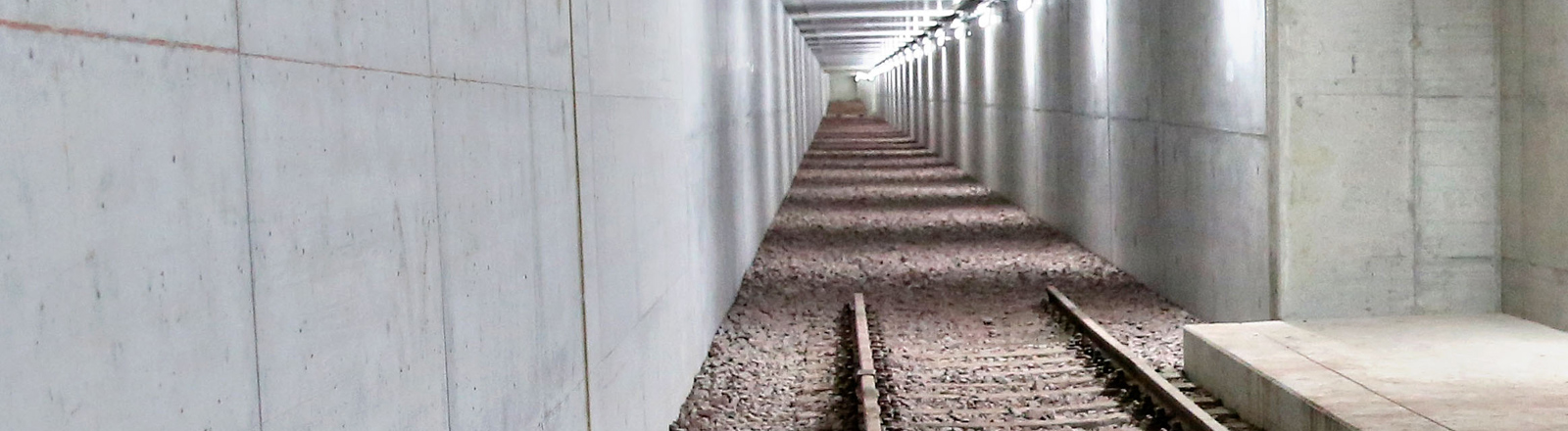 Der U-Bahn-Übungstunnel in der Bundeswehr-Übungsstadt Schnöggersburg in Sachsen-Anhalt