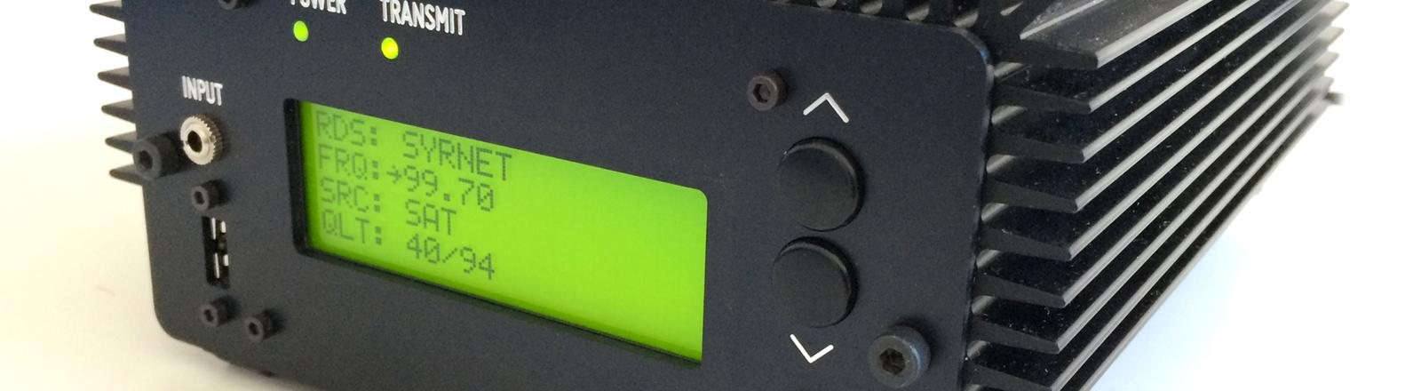 Das Radiosendegerät Pocket FM