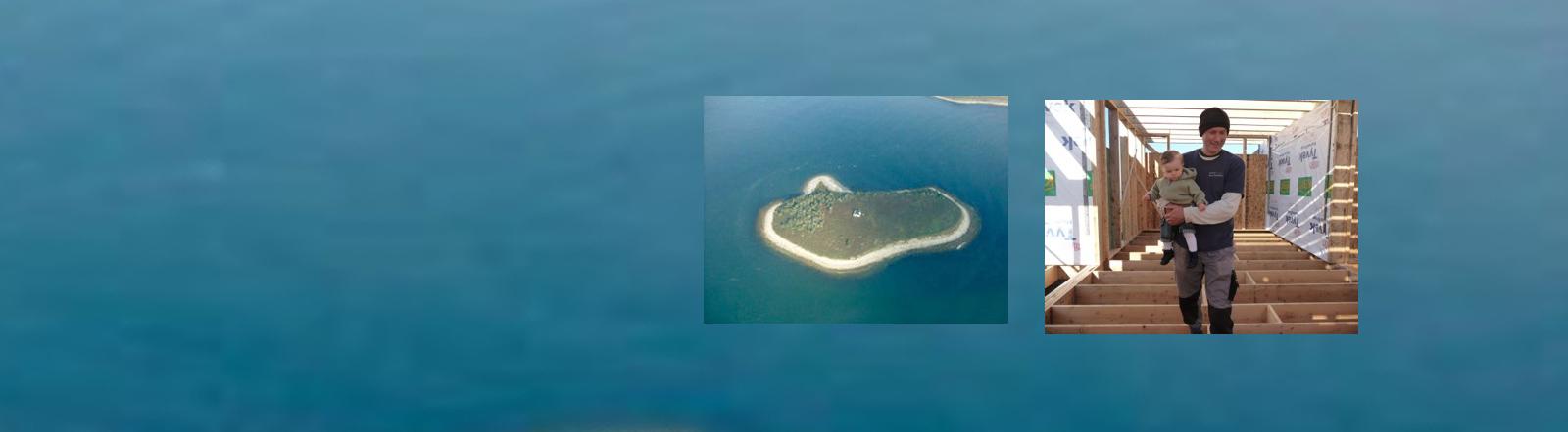 Boris Reininghaus gehört die Insel Marks Island in der Lobster Bay an der kanadischen Küste.