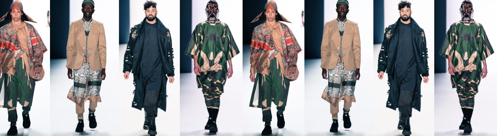 Die Herbst-/Winter-Kollektion 2016/17 des Designers Sadak