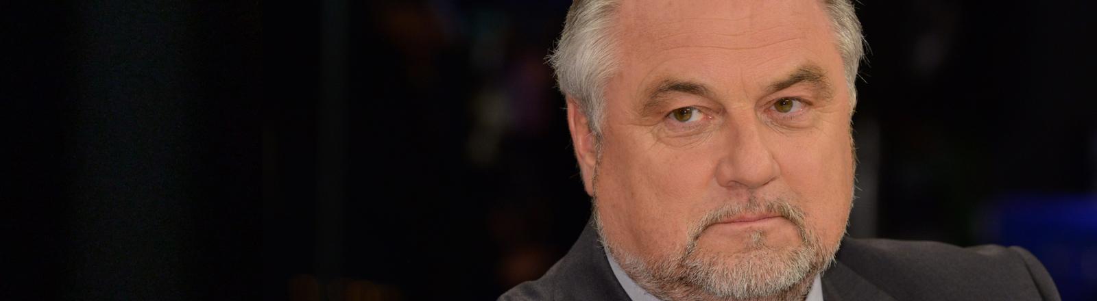Ulf Küch, stellvertretender Bundesvorsitzender des Bundes Deutscher Kriminalbeamter und Polizeichef Braunschweig am 28.01.2016.